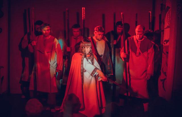 Русский духовный театр Глас. Корсунская легенда