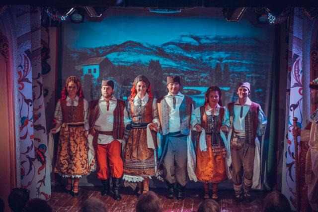 Русский духовный театр Глас. Корсунская легенда. Наша вера православна