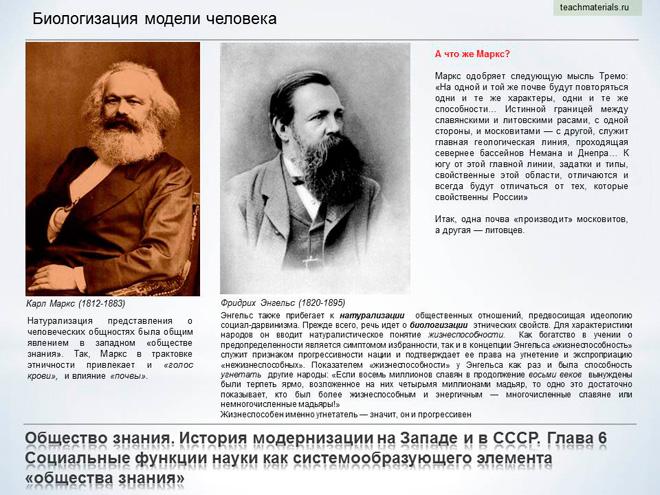Общество знания. История модернизации на Западе и в СССР. Биологизация модели человека-3