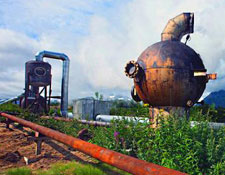 Паужетская геотермальная электростанция