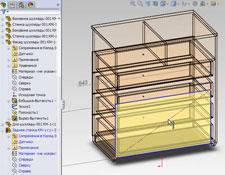 Параметризованная сборка в SolidWorks